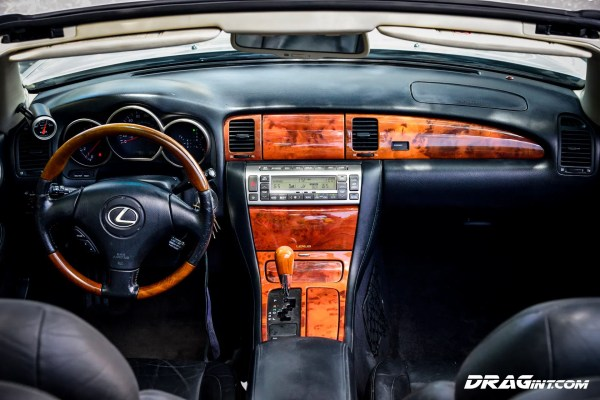 Lexus SC430 built by DRAG International with a twin-turbo 2JZ-GTE inline-six
