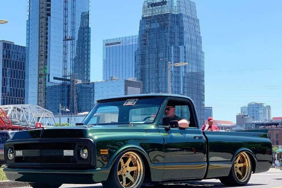 1970 Chevy C10 with a compound turbo Duramax V8