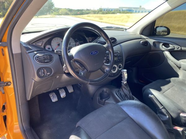 2003 Ford Focus with a 5.0 L V8