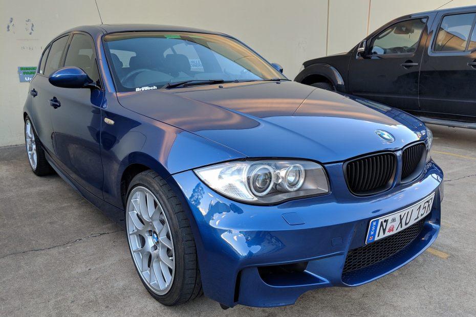 BMW 130i with a S65 V8