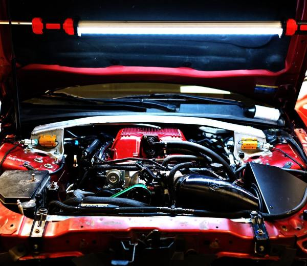 Cadillac CTS-V with a supercharged 427 ci LSX-LS9 V8 built by Katech