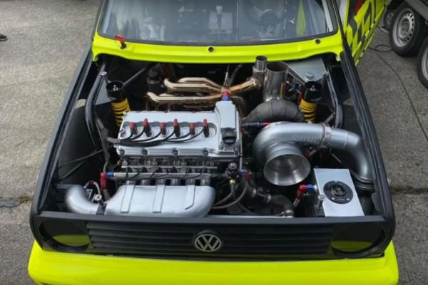 Turbotechnik Konne Golf Mk2 with a turbo VR6