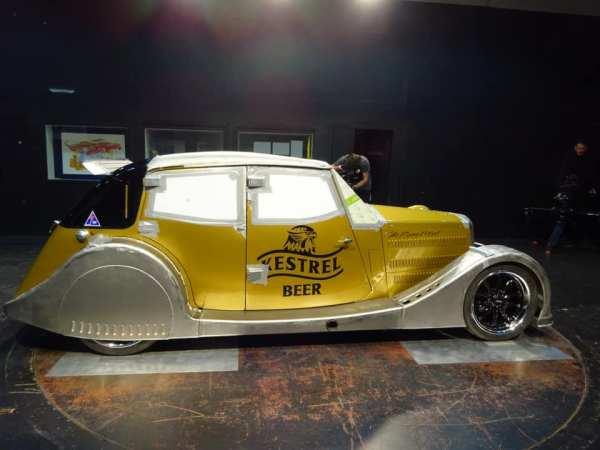 1935 Riley Kestrel with an Audi turbo inline-five