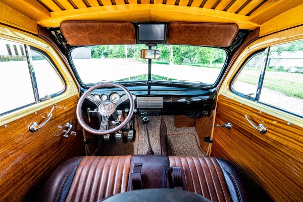 1948 Woody with a Supercharged Coyote V8