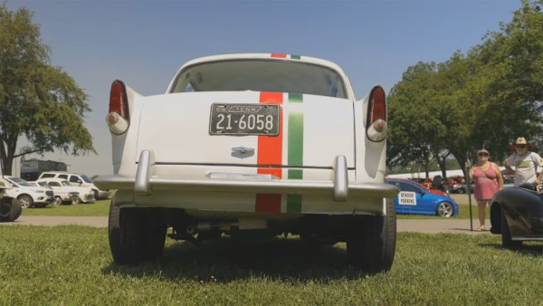 1959 Fiat 1100D with a Ford Turbo 2.3 L inline-four