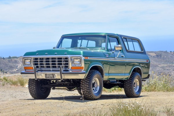1979 Bronco Ranger XLT with a Coyote V8