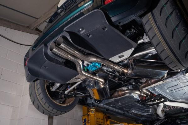 Vini the RWD Mini Cooper with a BMW S65 V8