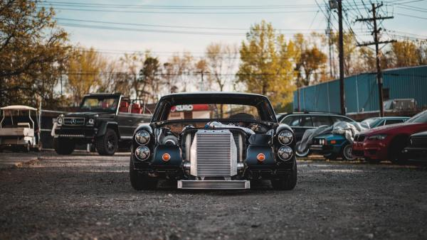 1969 Mercedes W108 built by Eurowise with a turbocharged LSx V8