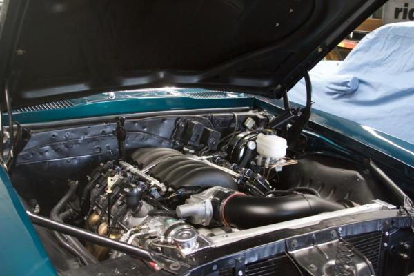 1969 Pontiac Firebird built by Level 7 Motorsports with a LS3 V8