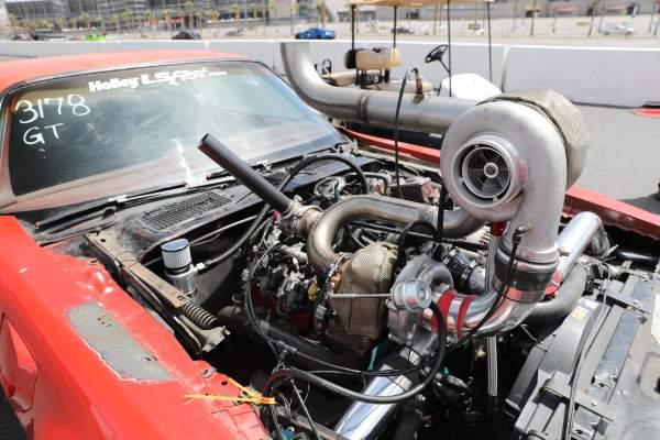 1979 Pontiac Firebird Trans Am with a compound turbo LSx V8