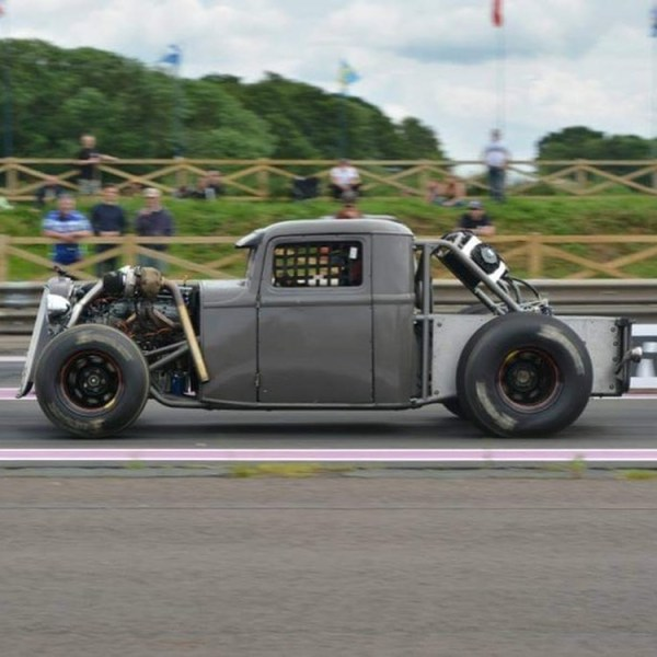 custom 1932 Ford truck built by Sussex Speedshop with a twin-turbo 5.3 L V8