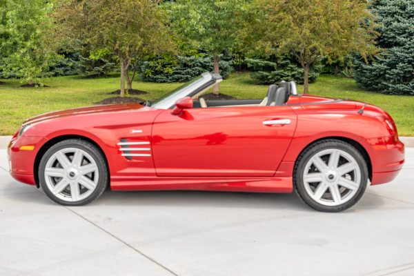 2005 Chrysler Crossfire with a supercharged M113 V8