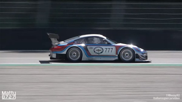 Porsche 997 race car built by RS Tuning with a twin-turbo 3.9 L flat-six